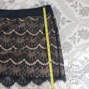 Ted Baker Skirts - Ted Baker Black Lace Mini Skirt
